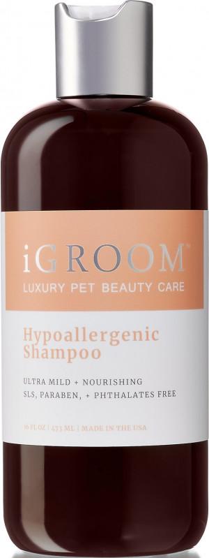 iGroom Hypoallergenic Shampoo - šampūns suņiem un kaķiem 473ml