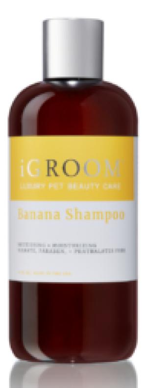 iGroom Banana Shampoo - šampūns suņiem un kaķiem 473ml