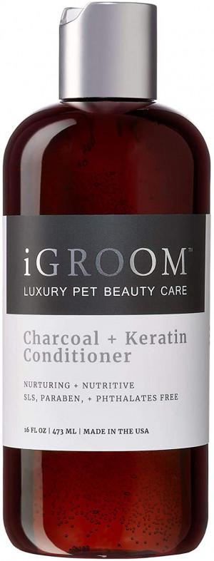 iGroom Charcoal + Keratin Conditioner - kondicionieris suņiem un kaķiem 473ml
