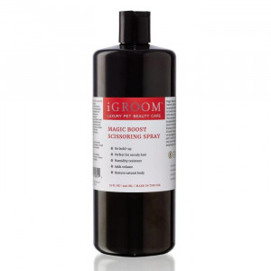 iGroom Magic Boost Scissoring Spray - kopšanas līdzeklis suņiem un kaķiem 946ml