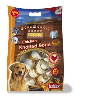 Nobby SarSnack BBQ Chicken Knotted Bone - gardumi suņiem 113g