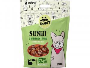 MR.BANDIT Sushi Rabbit & Fish - gardumi suņiem 500g