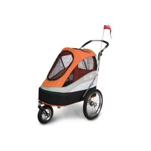 Innopet Sporty Dog Trailer Orange/Grey ratiņi