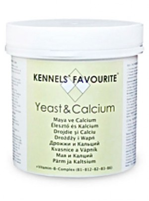 Kennel`s Favourite vitamīni suņiem ar raugu un kalciju 90 gb