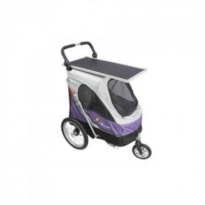 PetStroller SkyLine PetStro Lux violetā krāsā
