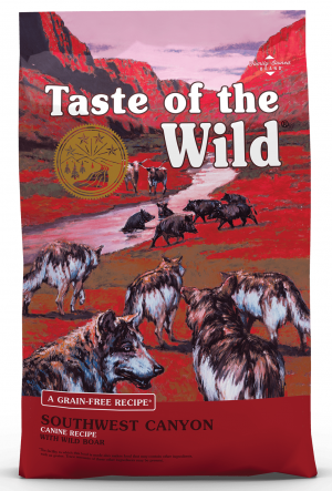 TOW Taste Of The Wild Southwest Canyon Canine Dog Formula 12.2kg x 3