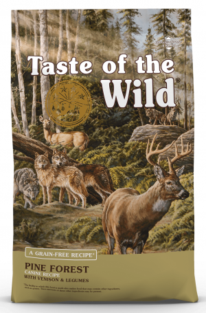 TOW Taste Of The Wild Pine Forest™ Canine formula 12.2kg x 3