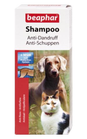 Beaphar Anti Dandruff Shampoo for Dog&Cat - šampūns dzīvniekiem 200ml