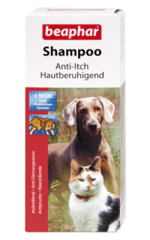 Beaphar Anti Itch Shampoo for Dog&Cat - šampūns pret niezi dzīvniekiem 200ml