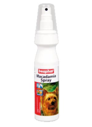 Beaphar Macadamia Spray - aerosols apmatojuma kopšanai dzīvniekiem 150ml
