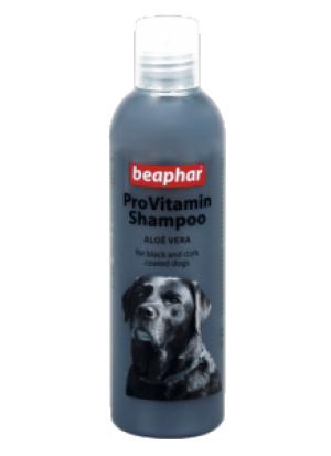 Beaphar Pro Vitamin Shampoo Black - šampūns suņiem ar tumšu apmatojumu 250ml