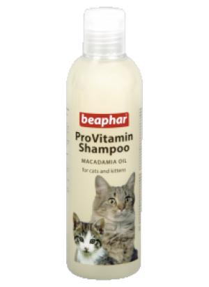 Beaphar Pro Vitamin Shampoo Macadamia Cat & Kitten - šampūns kaķiem, kaķēniem 250ml