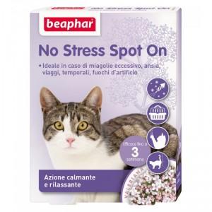 Beaphar No Stress spot on cat Nomierinoši pilieni kaķiem ar baldriānas ekstraktu,  3 pipetes