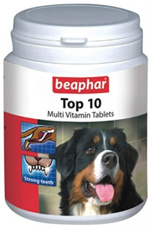 Beaphar TOP 10 For Dogs 750tab.