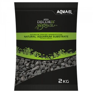 Aquael akvārija grunts (bazalta smiltis) 2-4 mm