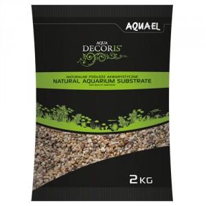 Aquael akvārija grunts daudzkrāsains 1.4-2 mm
