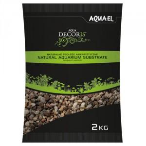 Aquael akvārija grunts daudzkrāsains 3-5 mm