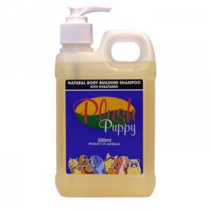 Plush Puppy NATURAL BODY BUILDING SHAMPOO WITH WHEATGERM - šampūns suņiem 500ml