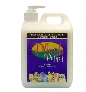Plush Puppy NATURAL SILK PROTEIN CONDITIONER - kondicionieris 5L