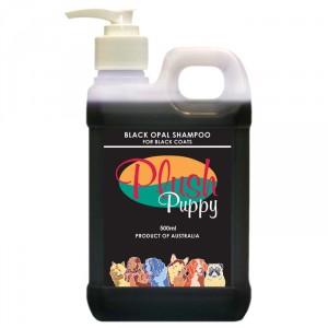 Plush Puppy BLACK OPAL SHAMPOO - šampūns suņiem ar melnu apmatojumu 1000ml