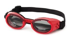 Doggles saulesbrilles suņiem sarkanas M 135mm