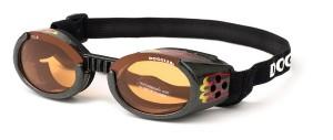 Doggles saulesbrilles suņiem melnas M 135mm