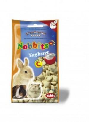 Nobby StarSnack Nobbits Yoghurt, ar jogurta garšu 75g