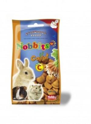 Nobby StarSnack Nobbits Сarrot, ar burkānu garšu 75g