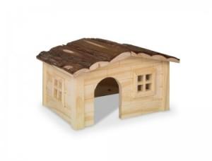 Nobby koka māja DINKY grauzējiem