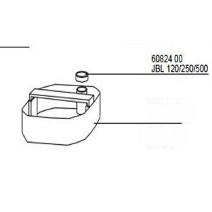 Grozu blīvgumija priekš JBL CP 120/250/500 (3gab.)