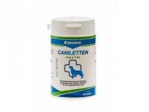 Canina Caniletten tabletes 2kg - kalcijsaturošs preparāts pieaugušiem suņiem.