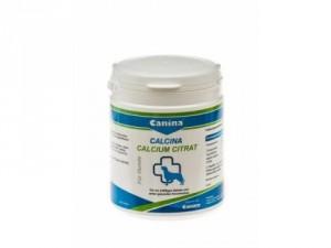 Canina Calcina Calcium citrat pulveris 125g - barības piedeva ar kalciju