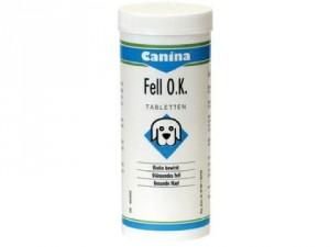 Canina Fell O.K. /tab./ 1kg - biotīna saturoša piedeva