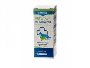 Canina Petvital Bio-Aktivator 20ml - bioaktīvie pilieni suņiem.