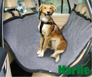 Karlie - divpusējs pārklājs aizmugurējam sēdeklim