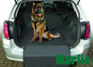 Karlie - pārklājs automašīnas bagāžas nodalījumam