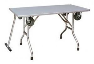 ShowTech Pro Series Low grūminga galds ar riteņiem zems 110 x 60 x 60 cm