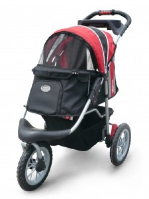 Innopet Buggy Comfort EFA Red/Black ratiņi