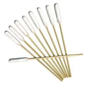H3D Bamboo Sticks Ear Cleaner Bambusa kociņi ausu tīrīšanai dzīvniekiem 50 gab.