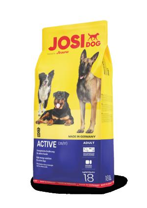 Josera JosiDog Active 18kg + DĀVANĀ šalle
