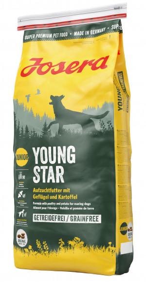 Josera Young Star 15kg + lidojošais šķīvītis DĀVANĀ!