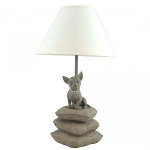 Happy House Lamp Chihuahua lampa ar čivavu