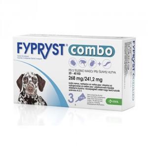 Fypryst Combo Spot-on pretparazitāri pielieni (pipetes) suņiem 20-40 kg 268 mg  N3