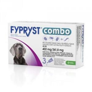 Fypryst Combo Spot-on pretparazitāri pielieni (pipetes) suņiem  ar svaru virs 40 kg 402 mg N3