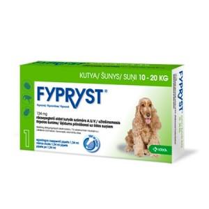 Fypryst pretparazitāri pilieni  (pipetes) suņiem 10-20 kg 134 mg  N1