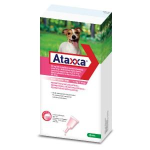 Ataxxa 500 mg/100 mg pretparazitāri pielieni  (pipetes) suņiem 4-10 kg  N1