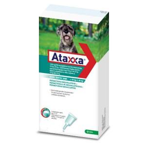 Ataxxa 1250 mg/250 mg pretparazitāri pielieni  (pipetes) suņiem 10-25 kg N1