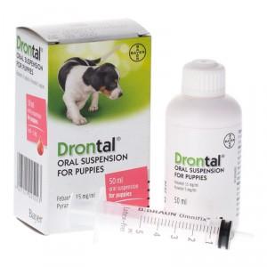 Drontal Puppy suspensija kucēnu attārpošanai, 50ml