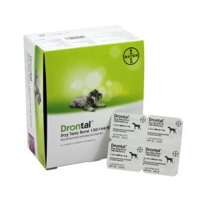 Drontal Dog Flavour 150/144/50 mg tabletes suņu attārpošanai N1