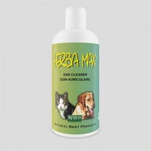 Herba Max Ausu tīrīšanas losjons dzīvniekiem 200ml
